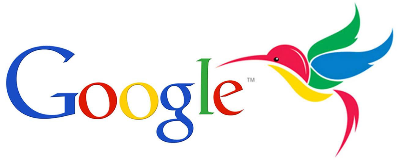 Googles Hummingbird logo