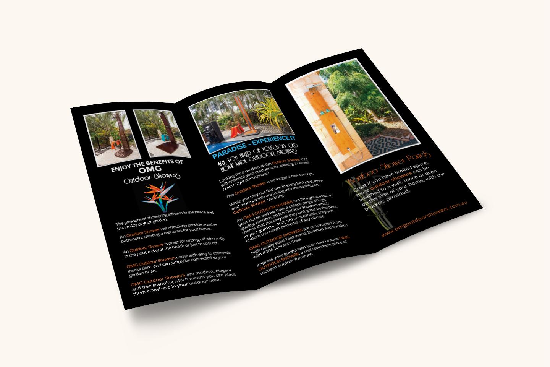 OMG Outdoor Showers Brochure