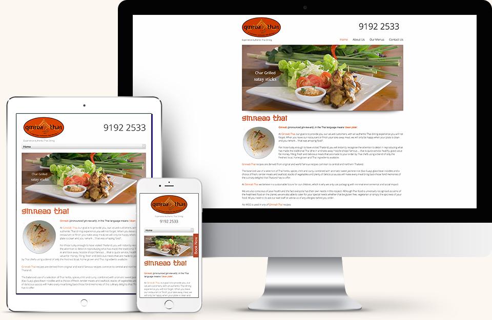 Ginreab Thai Website