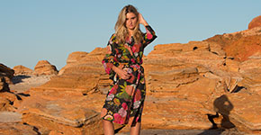 Model photographic shoot at Broome
