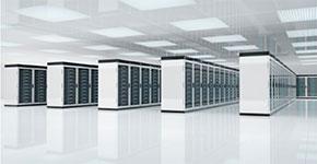 Web Hosting - Room of Servers