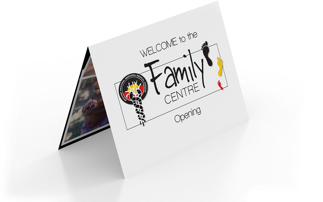 BRAMS Family Centre Opening invitation