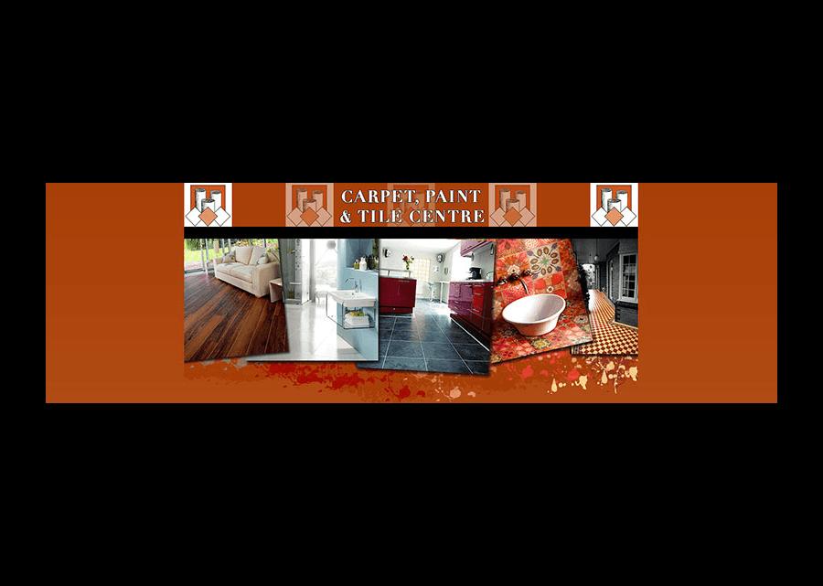 Carpet Paint and Tile Website Banner