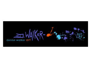 Denise Walker Art Website Banner