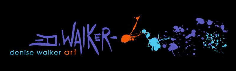 Denise Walker Art Website Banner