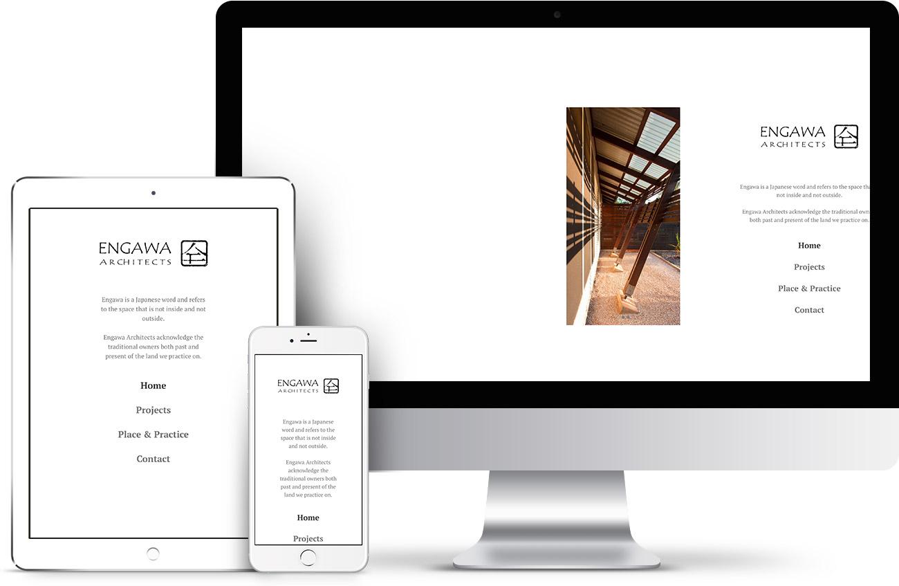Engawa Architects Web Design