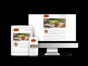 Ginreab Thai Restaurant Website