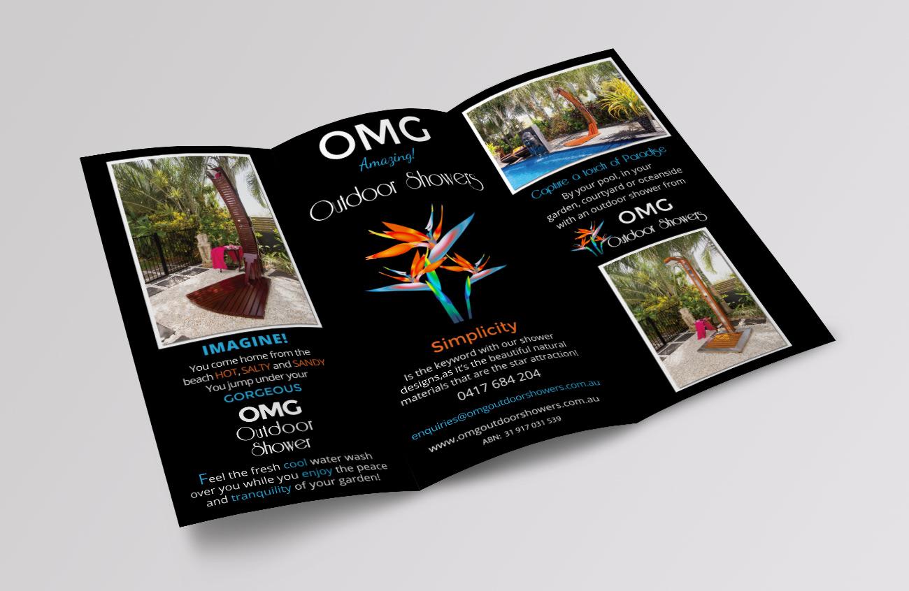 OMG Outdoor Showers Brochure outside