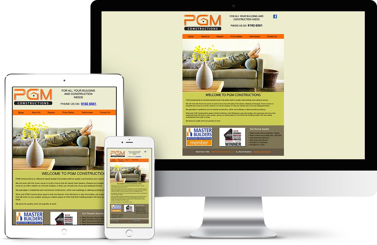 PGM Constructions Website