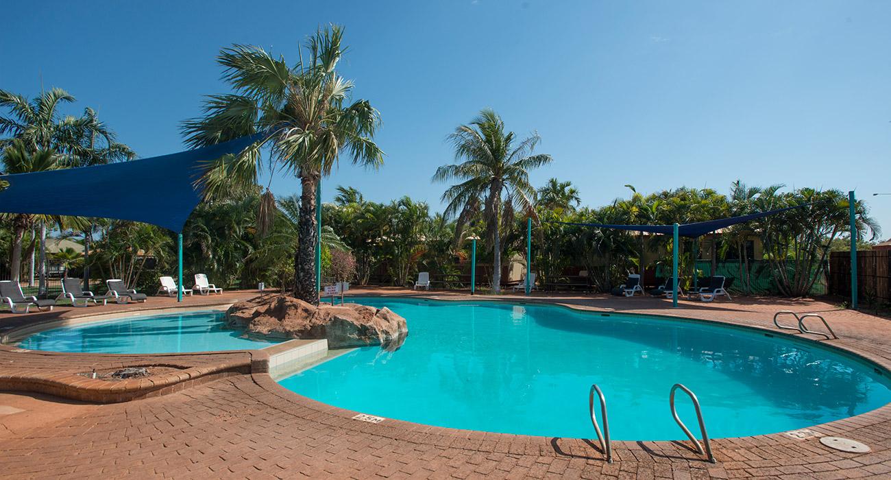 Broome Vacation Village pool