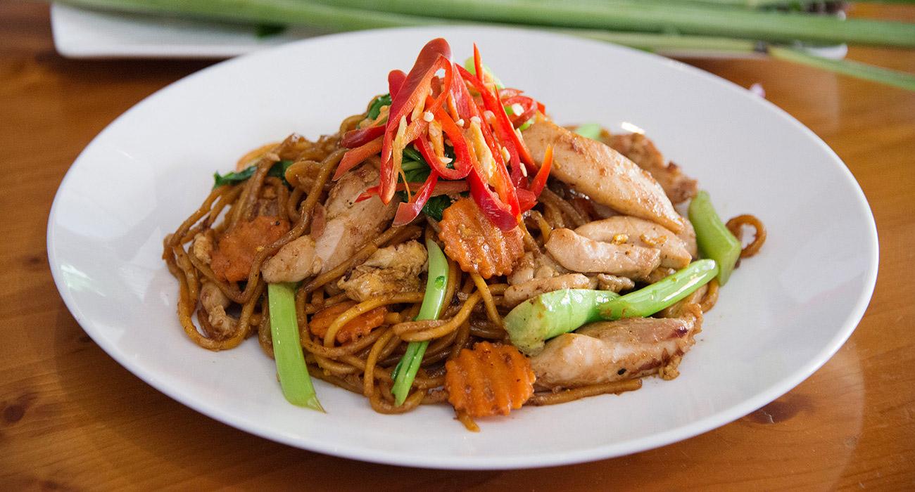 Spicy Hokkien Noodles