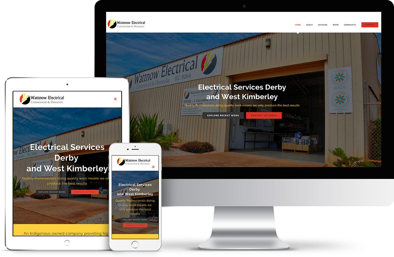 Wattnow Electrical Website