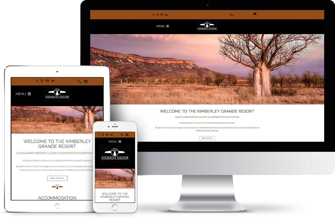 Kimberley Grande website